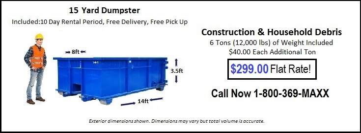 Cheap Dumpster rental OK City okc
