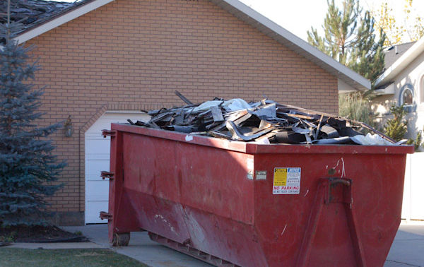 roofing dumpster rental in denver