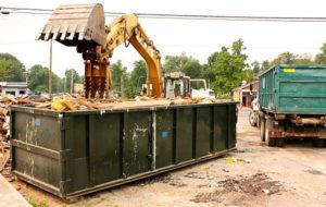 dumpsters for construction