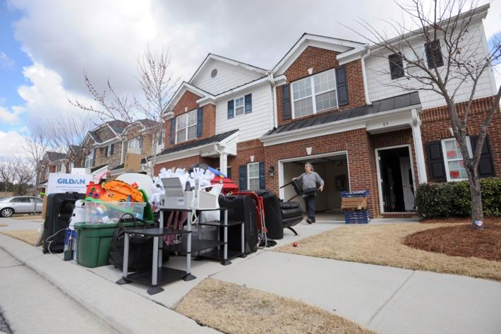 eviction clean out denver dumpster rental