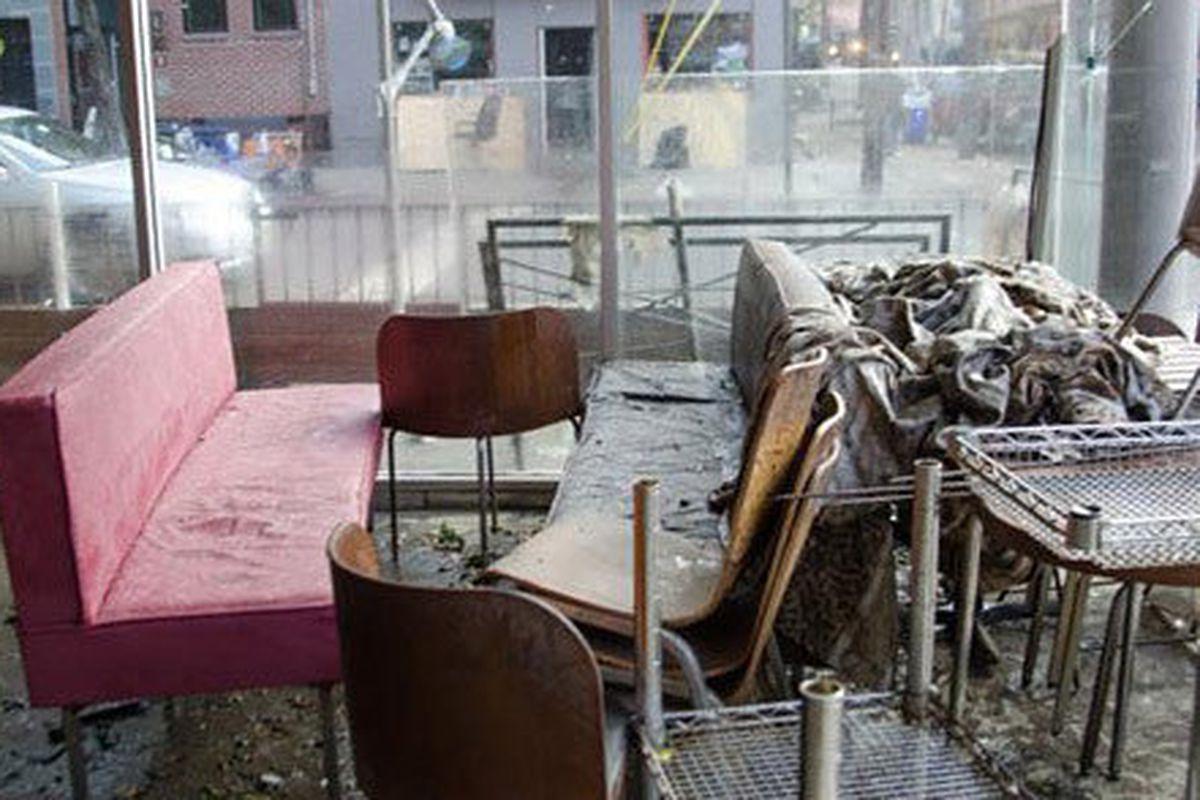 restaurant clean out baltimore dumpster rental
