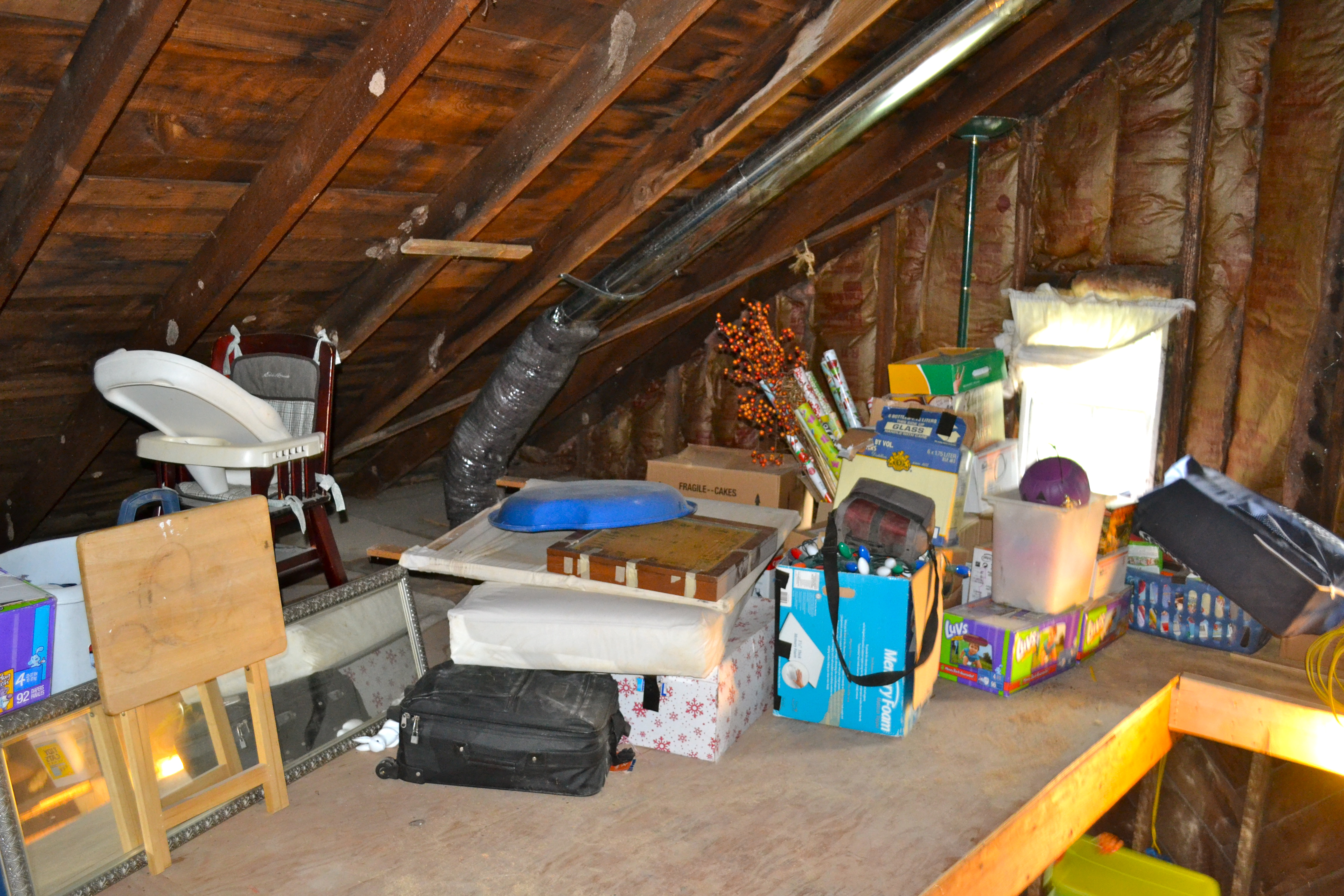 omaha clean out attic dumpster rental